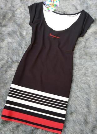 Новое! платье футляр чехол desigual