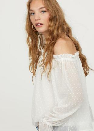 Блуза из шифона плюмети