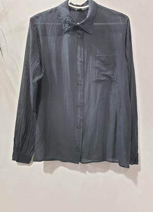 Чёрная рубашка bitte kai rand