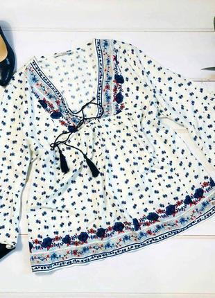 Стильная блуза,вышиванка george