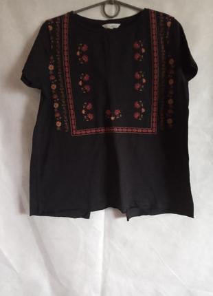 Симпастична футболка з вирізом на спині