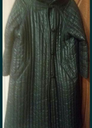 Фирменное деми пальто
