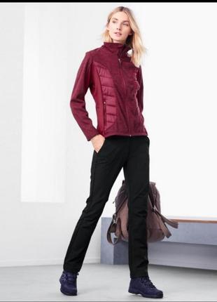 Куртка, кофта, реглан флисовый для спорта и активного отдыха tchibo