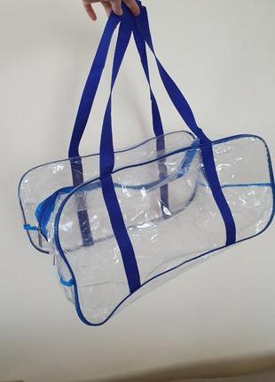 Синяя сумка в роддом