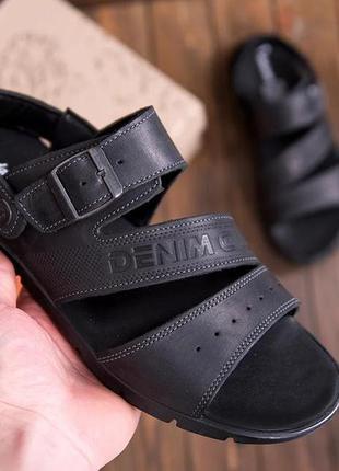Мужские кожаные сандалии а11(1)
