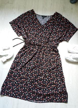 Платье 20р в цветочный принт new look