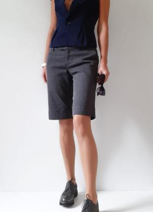 Брендовые шорты бермуды в офисном стиле удлинённые шорты шорты карго