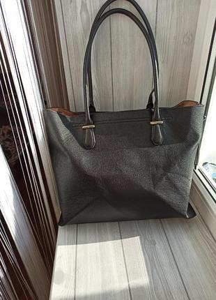 Большая сумка шопер вместительная