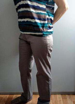Летние хлопковые брюки ostin p.m-l(38-40).