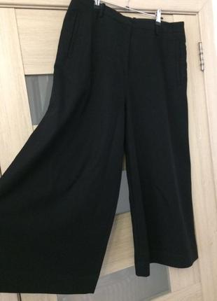 Cos широкие брюки кюлоты шерсть