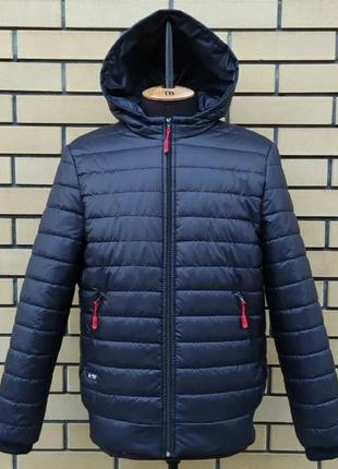 Мужская стеганая дэмисезонная куртка, размер 60