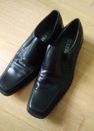 Кожаные туфли 42р/чоловічі класичні туфлі