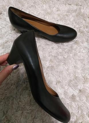 Туфли комфортные кожа