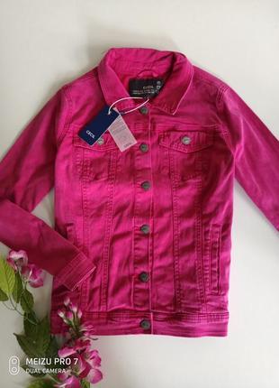 Классная фирменная джинсовка куртка от бренда sinsay cecil, m