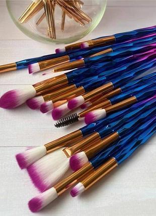 Набор кистей,  кисти для профессионального и повседного макияжа