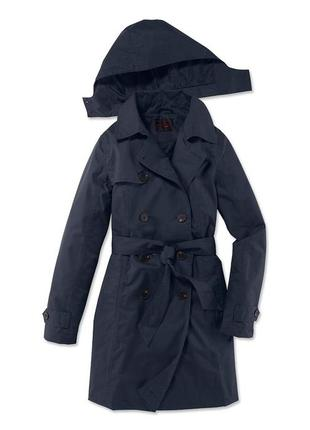 Тренч плащ пальто дождевик размер 46-48 наш tchibo тсм