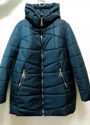 Зимняя куртка, размер 70 большемерит.