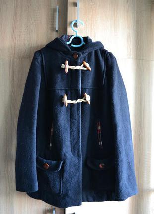 Пальто с капюшоном, дафлкот miss selfridge