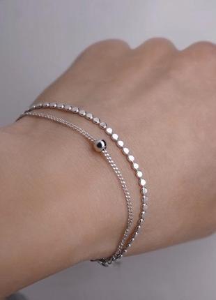 Очень красивый браслет в наличии, серебро