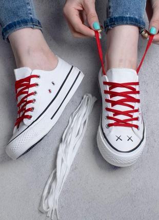 Стильные белые кроссовки кеды модные