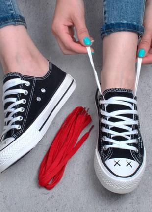 Стильные черные кроссовки кеды модные