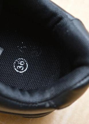 ... Женские кроссовки черные кожа кожаные из кожи новинка стильные модные5 81f1a243148