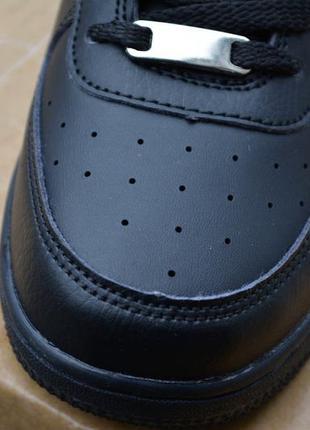 ... Женские кроссовки черные кожа кожаные из кожи новинка стильные модные4  ... d1b377ee129