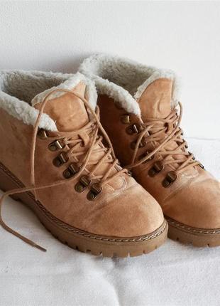 Демисезонные ботиночки на шнуровке