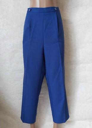 """Фирменные bm кюлоты/укороченные штаны в сочном цвете """"электрик"""", размер хл"""