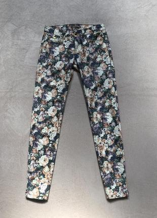 Шикарные летние брюки в цветы