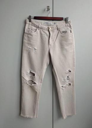 Винтажные джинсы zara р.xs-s(34-36)