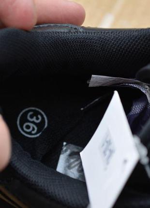 ... Женские кроссовки черные кожаные кожа из кожи молодежные стильные  модные3 ... 7a66c2390bb