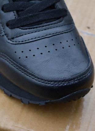 ... Женские кроссовки черные кожаные кожа из кожи молодежные стильные  модные5 860fbf61dad