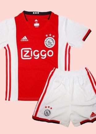 Детская футбольная форма аякс 19-20 adidas домашняя (2780)