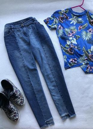 🌿стильные джинсы boyfit