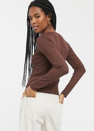 🎁1+1=3 базовый коричневый свитер водолазка лонгслив atmosphere, размер 42 - 44