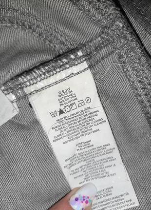 1+1=3 базовая серая зауженная джинсовая юбка-карандаш dept, размер 44 - 468 фото