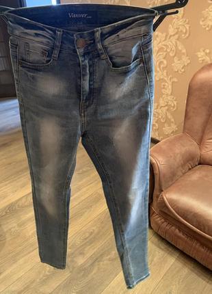 Крутые джинсы фирменные размер 42-44