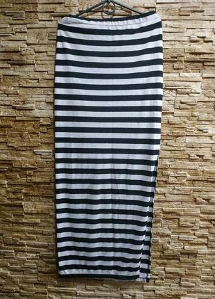 Стильная длинная юбка less