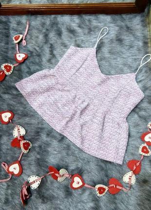 Sale топ блуза на бретелях river island