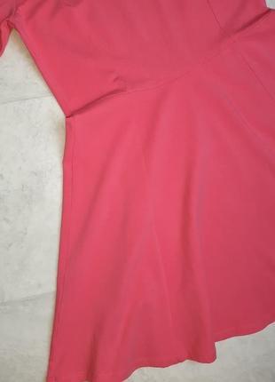 1+1=3 стильное яркое розовое трикотажное платье плаття h&m, размер2 фото