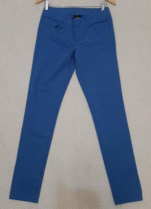 Стильные летние тонкие джинсы, узкачи takko fashion1982 р. 164-176 (36) мягкие, стрейч