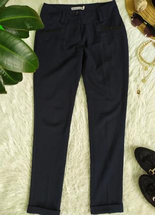 Классические тёмно-синие брюки