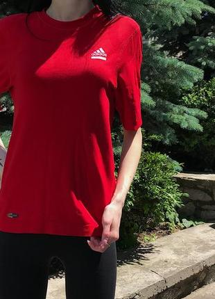 Женская компрессионная спортивная футболка adidas