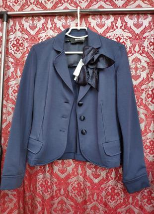 Love moschino оригинал синий пиджак