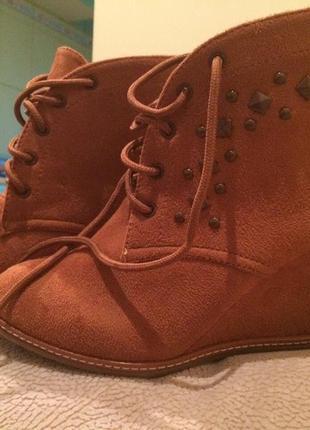 Стильные ботинки  kira plastinina