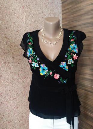 Блузка вышиванка karen millen