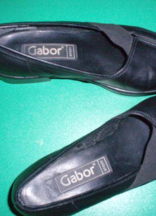Gabor sport шикарные кожаные туфли. размер 5 1/2