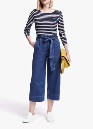 Новые джинсовые брюки кюлоты) поб 58 next