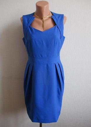 Яркое платье-футляр со сборками dorothy perkins